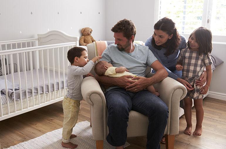 Annonce bébé famille recomposée