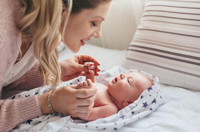 parler avec son bébé