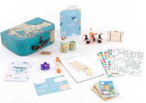 Valisette de jeux de voyage Mummy TamTampour enfants