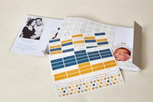 Album bébé à personnaliser