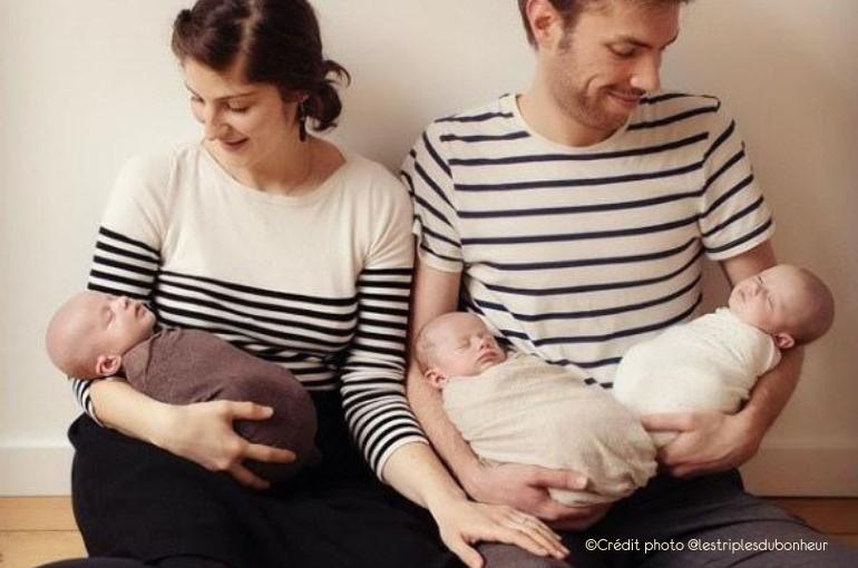Témoignage d'allaitement : Laura, maman de triplés